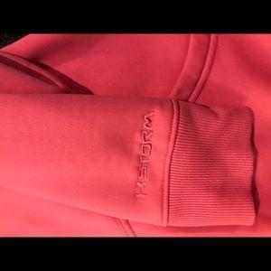 Under Armour UA Storm Pink Hoodie sz SM/P